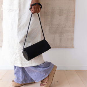 full moon bag black schoudertas monk&anna