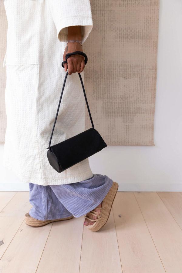 full moon bag black schoudertas monk&anna