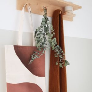 Tote bag earthy