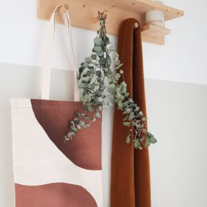 Tote bag earthy monk anna