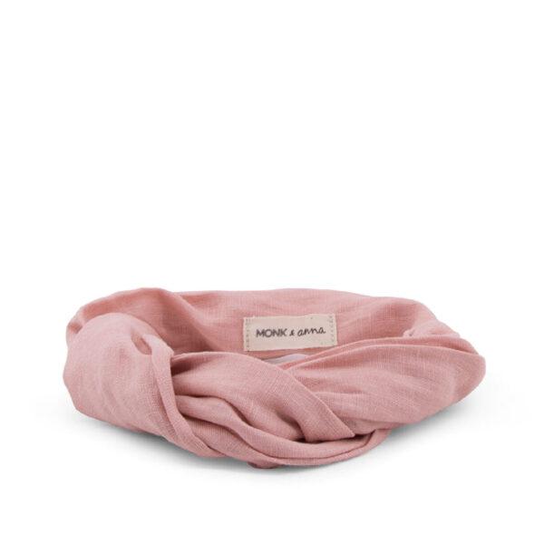Monk and anna Linen headband - dawn