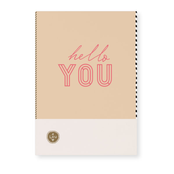 Card Loua by Tinne and Mia Hello you