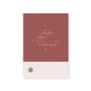 Card Loua by Tinne and Mia I hope you dance