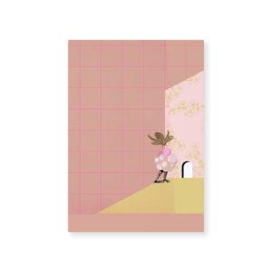 Card Loua by Tinne and Mia I thought I saw you