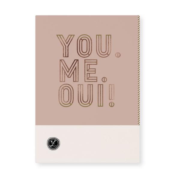 Tinne+mia Loua kaart you me oui
