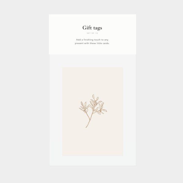 Cadeaukaartjes botanisch natural inkylines