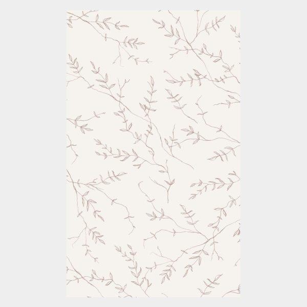 inpakpapier jasmijn inkylines