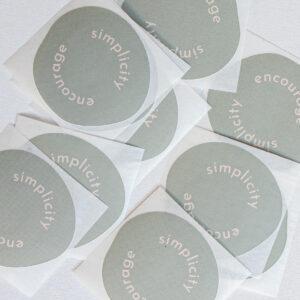 Sticker Escpae the ordinary Powders & Hazel