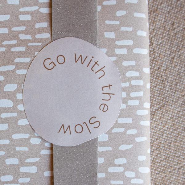 Sticker Go with the Slow Powders & Hazel-1