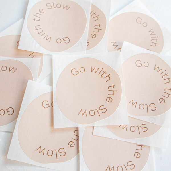Sticker Go with the Slow Powders & Hazel-3