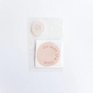 Sticker Go with the Slow Powders & Hazel-4