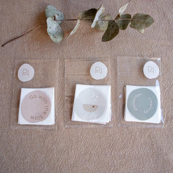 Stickers Powders & Hazel